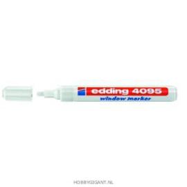 Edding Window Marker  Wit 4095