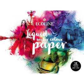 Talens Ecoline Papier - 300 grams - 24 x 32 cm