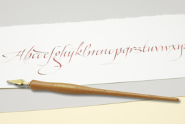 Handwritmic Walnut Light Wood Nib Penhouder