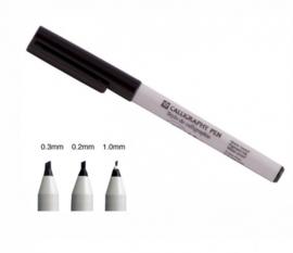 Sakura Handlettering Kalligrafie Pen - Zwart
