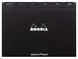 RHODIA DOT PAD NO-38 BLACK,  Formaat A3+