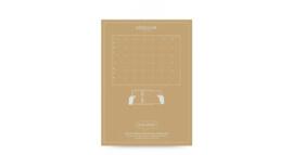 Filofax Clipbook A5 Ongedateerde Maandplanner