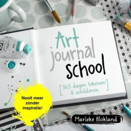Art journal School 365 dagen Tekenen, Kleuren en Schilderen