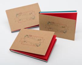 Handlettering Oefenblok A6 Kerst Editie + 1 x Pentel Hybrid Dual Metallic Gel Pen