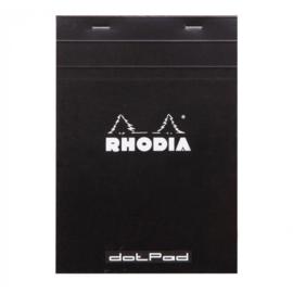 Rhodia DotPad No.19 - 210 x 318mm  - 80 pagina's - Zwarte Kaft