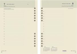 Brepols Brefax 1, Jaarplanner 2020 - Formaat  A5