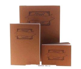 Actiepakket Handlettering Bloks A4/A5/A6 + GRATIS 1 Witte Sakura  Gellypen