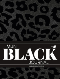 Mijn All Black Dotted Bullet Journal+ 1 Sakura Gelly Roll Gelpen Wit