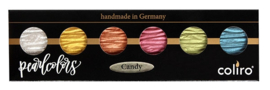 "Finetec / Coliro  6 Pearlcolors  Set ""Candy"""