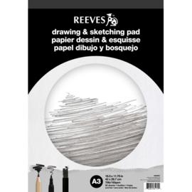 Reeves Teken-  & Schetsblok – A3