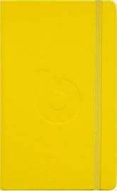 Bullet Journal van Bruynzeel (Oker Geel Editie) Dotted Wit 140gr Papier + GRATIS 1 Sakura Micron Fineliner