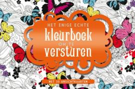 Het Enige Echte Kleurboek om te Versturen