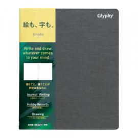 Maruman N1483 Glyphy Notebook - B6 - Art Paper - 48 Pagina's