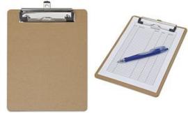Stevig Klembord van Hardboard formaat A5