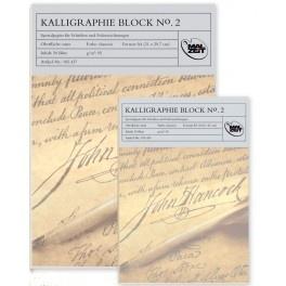 Crèmekleurig Kalligrafieblok