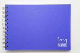 A5 Blanco Papier Wire-O Gebonden Boek, Oblong.