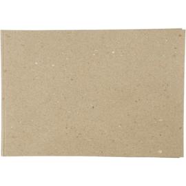 Kraft papier, A4  Recycled 500 vellen - 100 gram