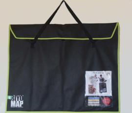 Portfolio met schouder draagband 70 x 90cm Leaf Green