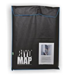 BiyoMap (Donker Blauwe Bies) 60 x 70cm