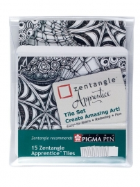 Zentangle | Apprentice Tiles 15-Delig