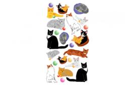 Bullet Journal Cats Stickervel