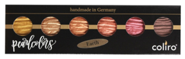 "Finetec / Coliro  6 Pearlcolors Set ""Earth"""
