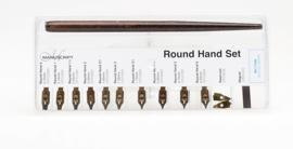 Leonardt Round Hand Set