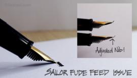 Sailor Script Kalligrafie Pen - Green Fude-De-Mannen