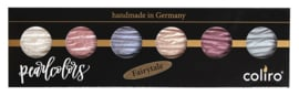 "Finetec / Coliro  6 Pearlcolors  Set ""Fairytale"""