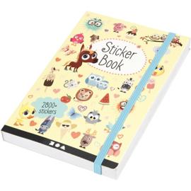 Mijn Bullet Journal Stickerboek, 2800 div Stickers