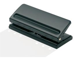 6-gaats Instelbare Perforator, Geschikt voor Junior - Standard - Executive/A5 formaat.