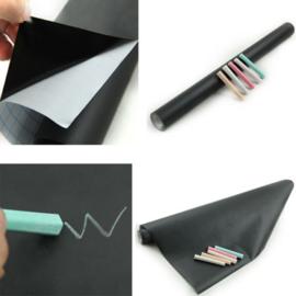 Krijtbord Folie Sticker + Krijtjes
