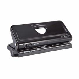 Rapesco 6-Gaats Perforator voor Organizers, Zwart