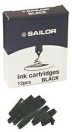 Sailor Inktpatronen - Zwart