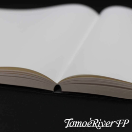 Tomoe River Paper A5 Notebook 184 Vel = 368 Pagina's Hard Cover, 68g/m2 Wit Blanco Papier