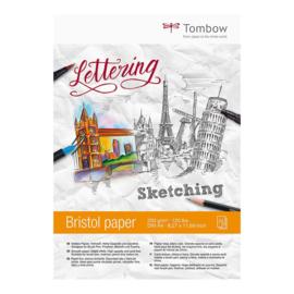Tombow Bristol Papier A4, 250 gram