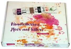 """Handletterbox """"Meer Met Letters"""" Exclusief Boek"""