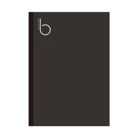Notebook Dotted Zwart Papier