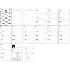 Planner / Bulletjournal Pagina's formaat A5