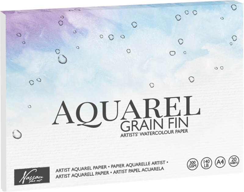 Aquarel Ecoline Papier 20 Vel, 300g/m² Premium Kwaliteit