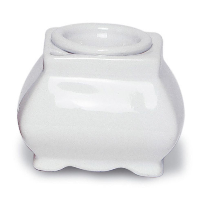 Porseleinen Elegante Witte Inktpot