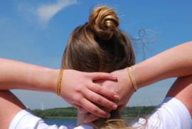 Armband Miyuki Sun Silver