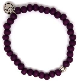 Sunbeam Dark Purple Silver