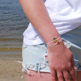 Armband Celebrate life Swarovski steentje
