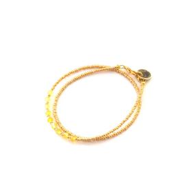 Armband Miyuki Sun Gold