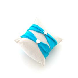 Kinder armband Ibiza aqua