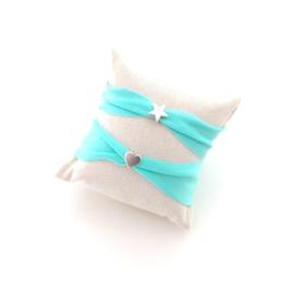 Kinder armband Ibiza mint