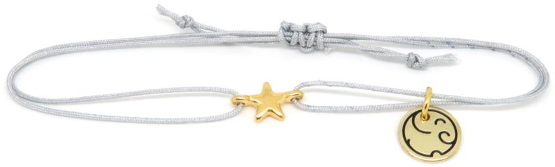 Star Gold - Celebrate Life knooparmband