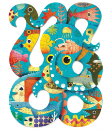 Djeco Puzzel Puzz'art Octopus