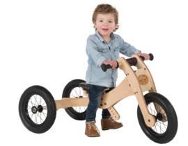 Trybike, de houten 4-in-1 loopfiets